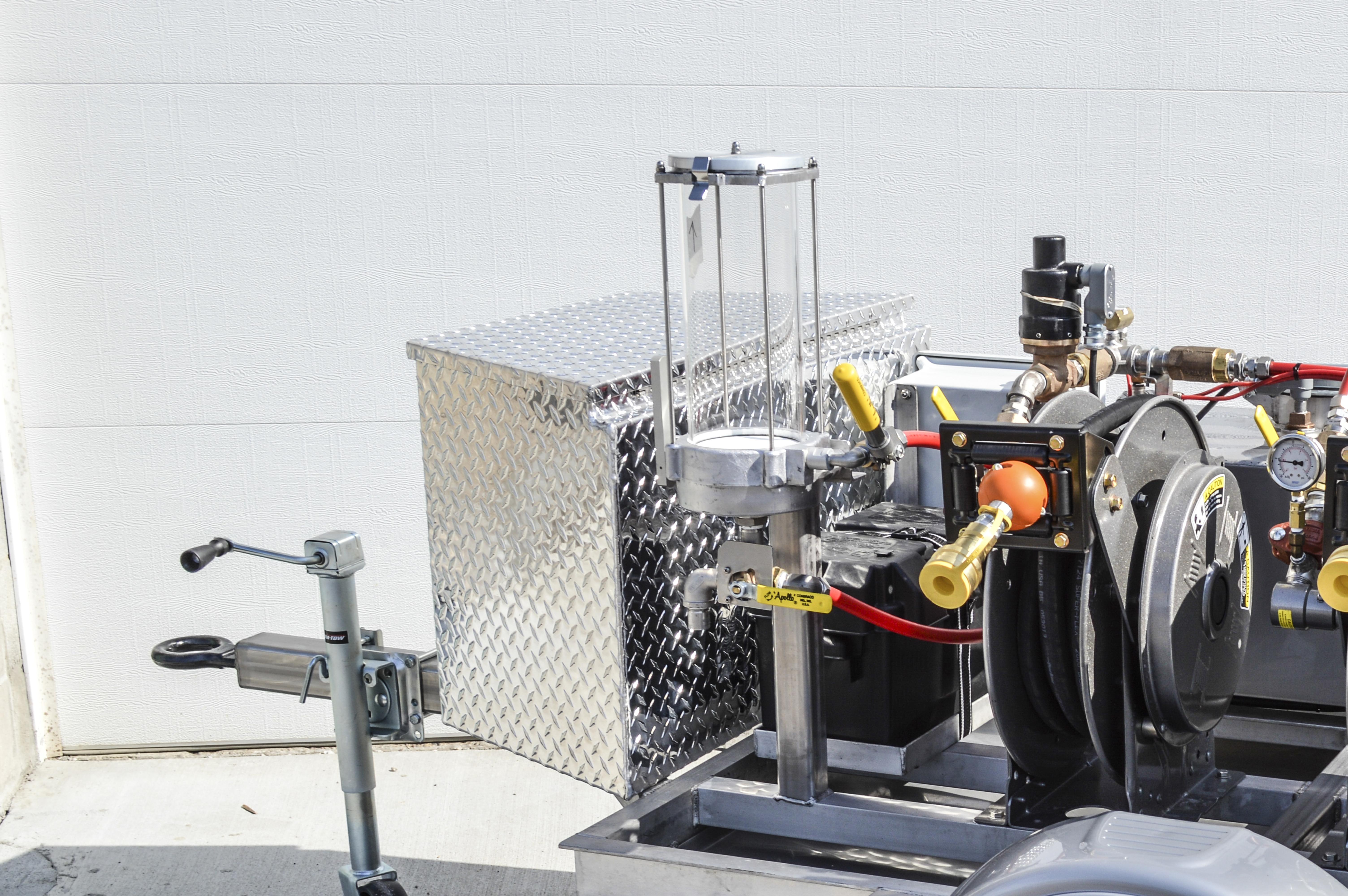 Westmor Fuel Testing System Clear Sample Jar