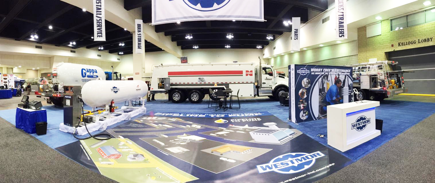 Westmor Industries Trade Show Display