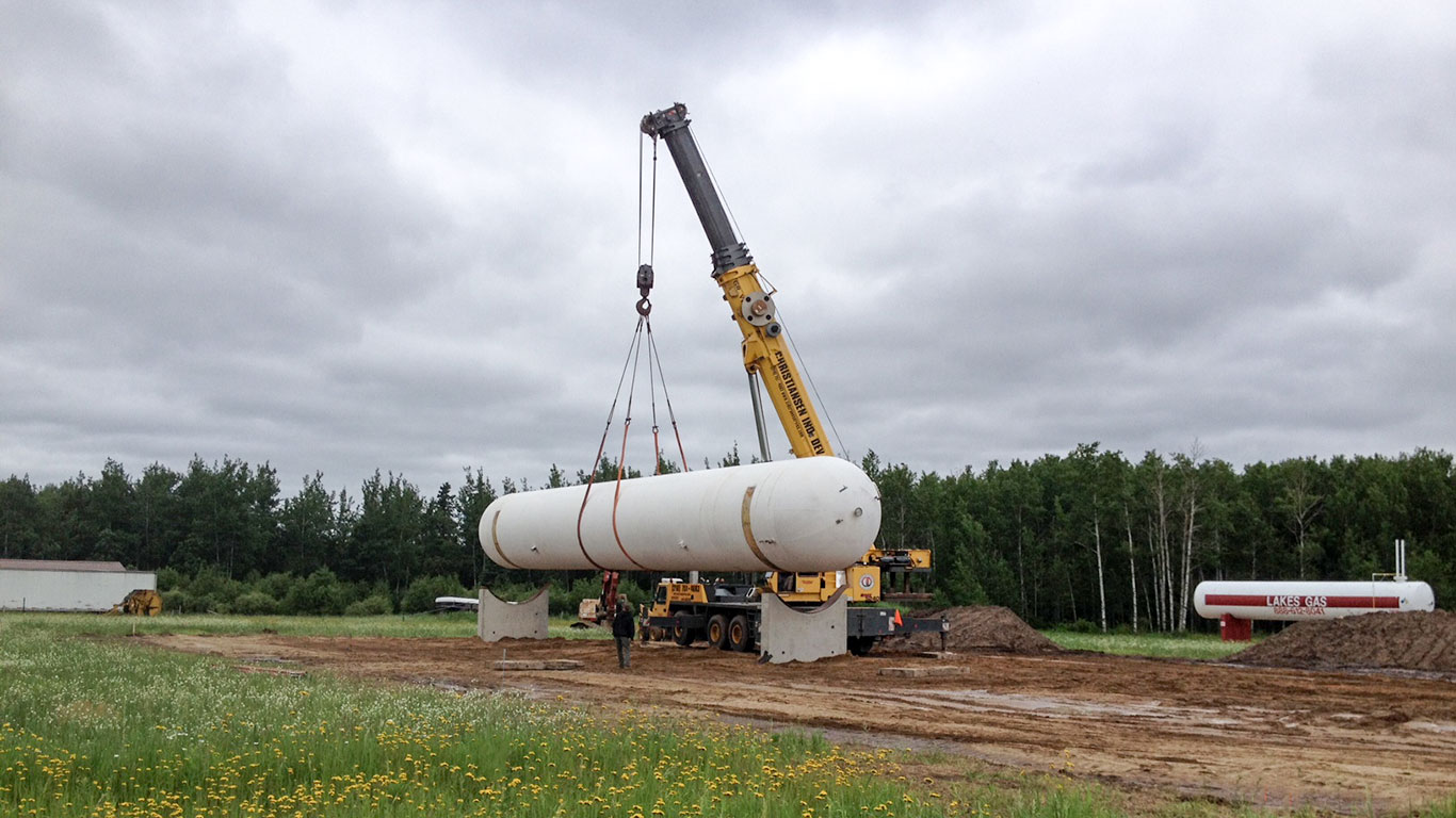 bulk plant installation from Westmor Industries